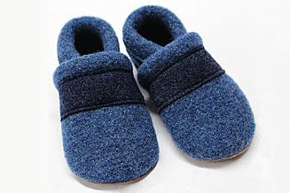 Walkschuhe grau/blau